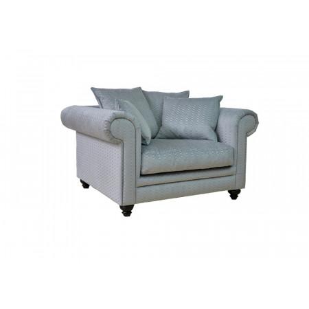 Alberta nowoczesna sofa z szezlongiem Max, szerokość 378cm