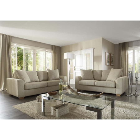 Pure sofa z luźnym pokrowcem 263 cm