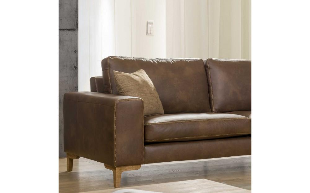 Tucson klasyczna sofa narożna 323x177cm