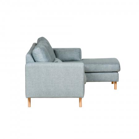 Ferrara nowoczesna sofa narożna z szezlongiem 257x367x190cm