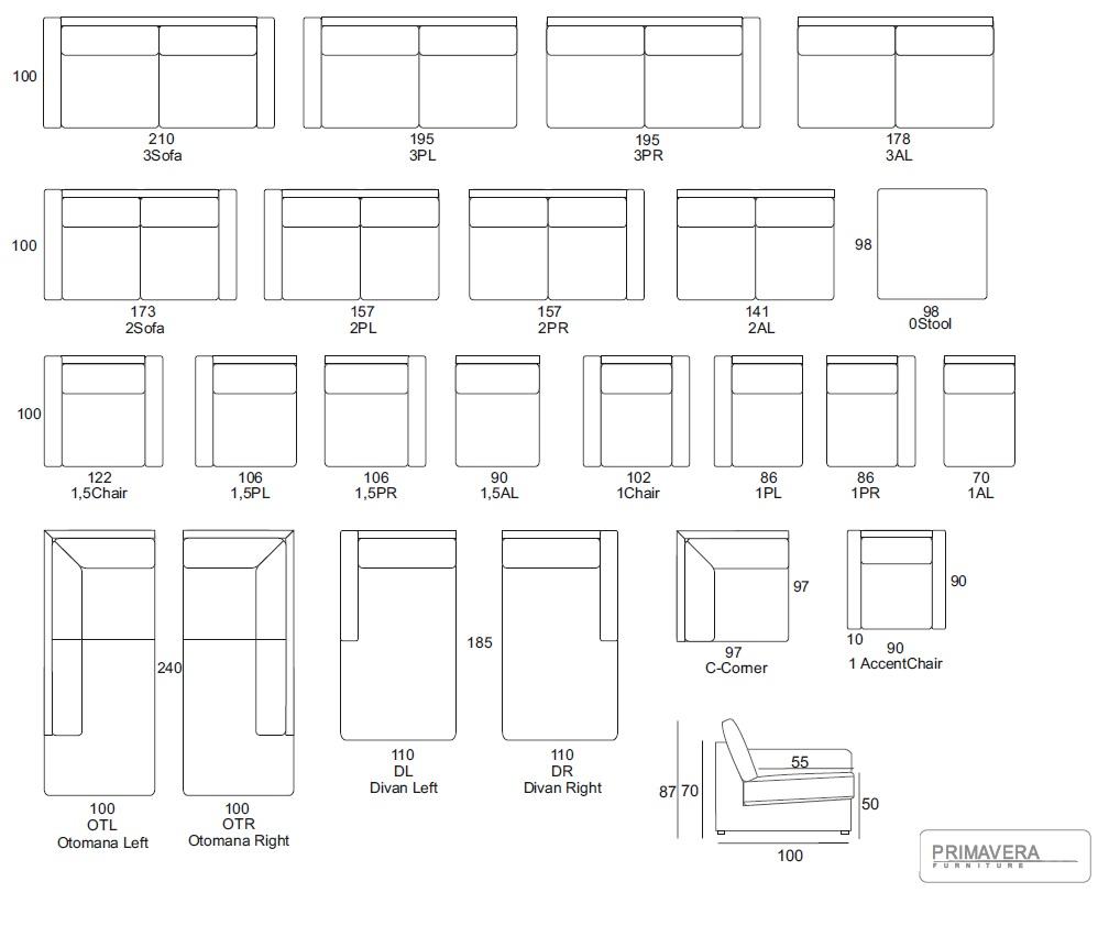 Ashford Primavera Furniture