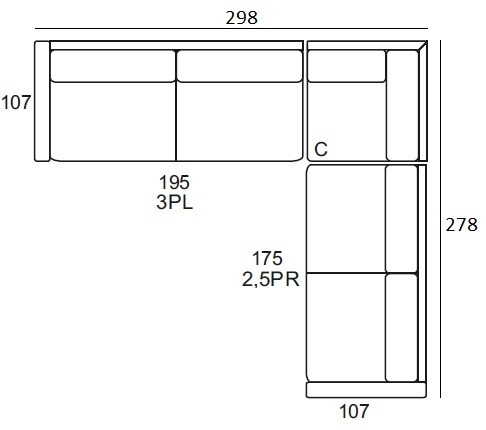 Wymiar Sarbon Primavera Furniture